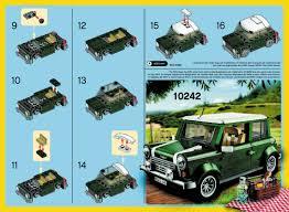 lego mini cooper interior lego mini mini cooper 40109 modular brick