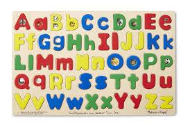 amazon com melissa u0026 doug upper u0026 lower case alphabet letters