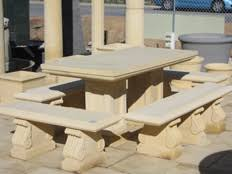 Outdoor Table And Chairs Perth Outdoor Stone Furniture Perth Sandstone Furniture Products Perth