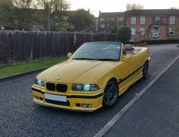 yellow bmw 328 convertible m3 kit e46 alloys manual n reg in