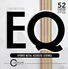 cleartone eq strings custom light 11 52 cleartone store