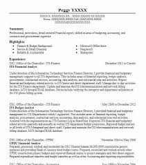Sample Federal Budget Analyst Resume by Best Financial Analyst Resume Example Livecareer