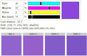 pantone colors cmyk to pantone find pms colors close to cmyk color