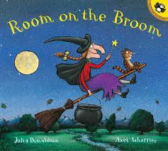 halloween preschool books room on the broom julia donaldson axel scheffler 9780142501122