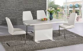 Gloss White Living Room Furniture White Gloss Dining Room Furniture Oval Table Chairs Oval Dining