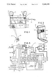 patent us5148158 emergency lighting unit having remote test