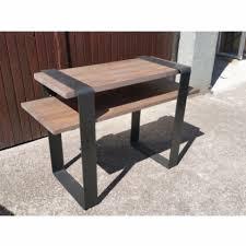 bureau industriel metal bois bureau industriel métal et bois les vieilles choses within bureau