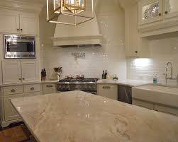 granite countertop beige cabinets kitchen install backsplash