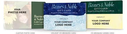 gift cards co branding barnes noble