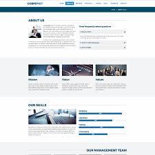 corpboot corporate website template by rafamem themeforest