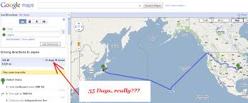 map us japan maps suggest you to take a kayak from usa to japan