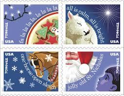 u s postal service begins to celebrate the season with