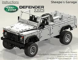 sheepo u0027s garage land rover defender 110 instructions are now