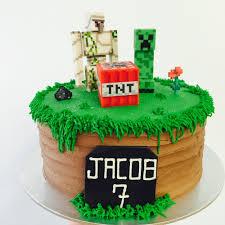 mindcraft cake novelty cakes vanilla pod