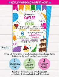birthday invitations birthday party invitations birthday cake party invitations birthday party invitations
