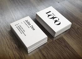 Business Card Design Psd File Free Download White Stack Business Cards Mockup Psd File Free Download