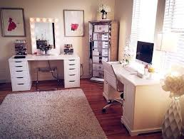 Makeup Vanity Ideas For Small Spaces Vanities Makeup Vanity Decor Ideas Vanity Room Decorations