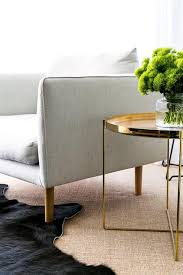 gold accent table design ideas