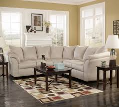 Ashley Sofas Signature Design By Ashley Darcy Stone Contemporary Sectional