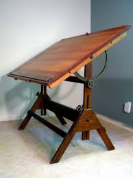 Old Drafting Table Furniture Antique Price Guide