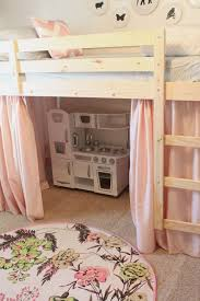 Mydal Bunk Bed Review Danielle Oakey Interiors Tenting The Loft Bed Ikea Hack