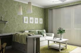 interior home wallpaper living room wallpaper at small apartment interior design by artem