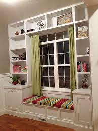 Bookshelf Seat Built In Bookcase Picmia
