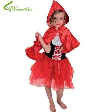Girls Halloween Costumes Aliexpress Buy Girls Halloween Costumes Red Riding