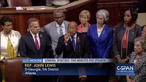 house democrats stage sit in on house floor c span youtube