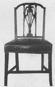 sedie chippendale sheraton