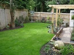 Family Garden - modern l shaped family garden alda landscapes