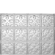 Princess Victoria Aluminum Backsplash Tile - Aluminum backsplash
