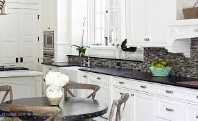 inexpensive white kitchen cabinets white kitchen backsplash tile ideas charming u shape bright brown