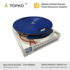 topko wholesale exercise yoga wobble durable polypropylene