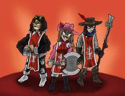 3 musketeers cartoon pictures pin pinsdaddy