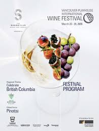 2009 vancouver playhouse interntaional wine festival program by