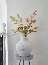 Faux Flower Arrangements Faux Flower Bouquet Serenity Nordic House