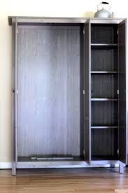 closets how to make a closet organizer for small closetsideview