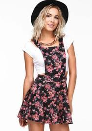 forever 21 sweet floral overall dress on shopstyle com fashion