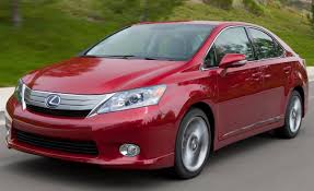 lexus hybrid sedan price 2010 lexus hs250h hybrid u2013 instrumented test u2013 car and driver