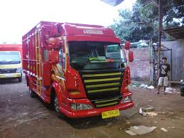 mitsubishi truck indonesia foto gambar full variasi truk canter keren modifikasi truk canter