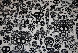 Day Of The Dead White R97 Papel Picado Mexico Day Of The Dead Paper Cut Skull Skulls And