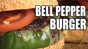 bell pepper cheeseburger recipe youtube