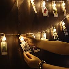 string lights with picture clips led photo clip string lights letsun 15 photo clips fairy lights