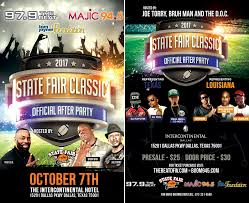dallas tx halloween party the state fair classic official after party 2017 97 9 the beat
