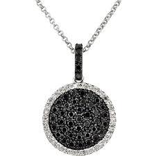 black diamond necklace images Necklace black diamond necklace mens black stone engagement jpg