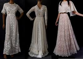 1910 vintage wedding dress naf dresses
