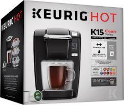 best keurig coffeemaker deals black friday keurig k mini k15 single serve k cup pod coffee maker black 120309