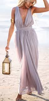 beachy dresses for a wedding guest plunging v neckline maxi dress light purple maxi dresses and lights