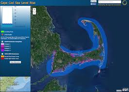 sea level rise viewer for cape cod u2013 cape cod commission reporter